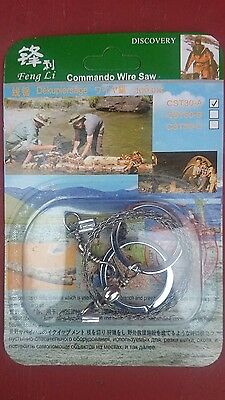 Steel wire saw hunting camping commanbo hiking climbing prep
