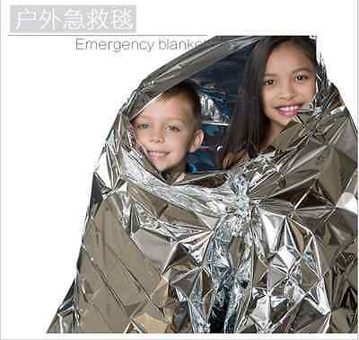 TOP Outdoor Silver Emergency Blanket Survival Rescue Outdoor Life-saving Large