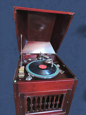 """Rare Antique : """"Maestrophone Reproducer"""" Wind Up Gramophone - Swiss Made"""