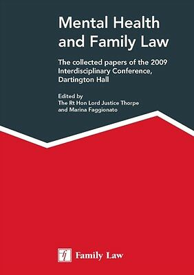 Mental Health and Family Law (Paperback), 9781846612114