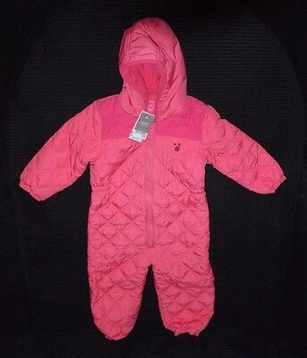 Pink Girls Snow Suit with Hood Age 3-4 Years BNWT
