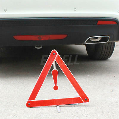 Car Triangle Warning Board Reflective Foldable Parking Sign Road Emergency