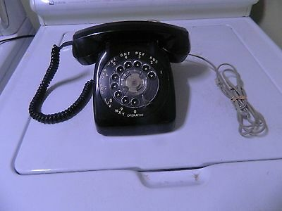 Rotary Dial Automatic Electric(Black)-Mint_Phone