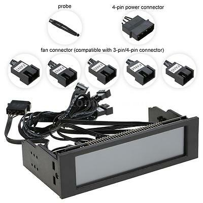5 Channel Computer Fan Automatic Speed Controller & LCD Monitor Touchscreen O3D9