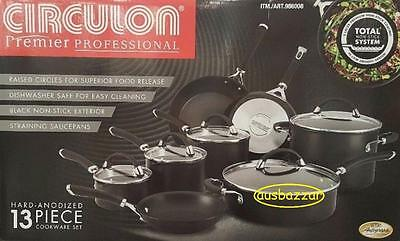 Circulon® Premier Professional Hard Anodized Nonstick 13Pc Cookware Set Brown