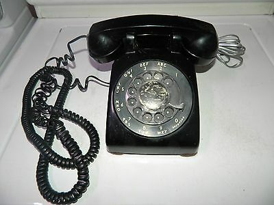 Western Electric-Old-(6-56) Rotary Desk Telephone