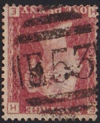 GB Used Abroad in PORT-AU-PRINCE HAITI E53. 1d. red pl.193.