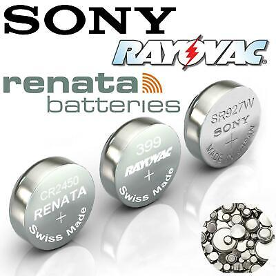 Rayovac/Sony/Renata Cell Batteries All Sizes Watch Battery Kitchen Scales Car