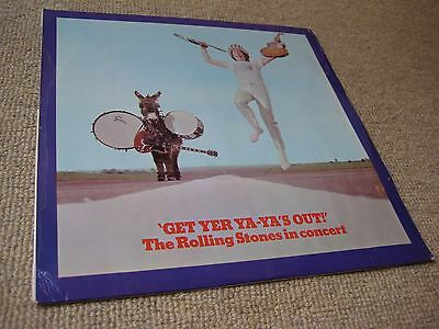 The Rolling Stones Get Yer Ya Ya's Out UK 1st Press LP 1W/1W BACK LAMINATED