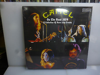 Camel-On The Road 1974. A Collection Of Rare Live Tracks.-2Lp Vinyl-New Sealed
