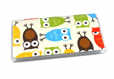 Woodsy Owls Checkbook Cover