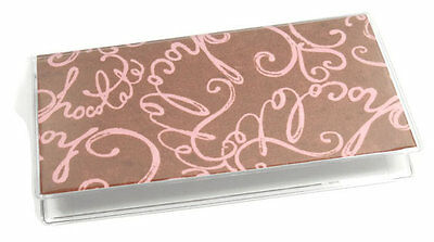 Chocolate Checkbook Cover