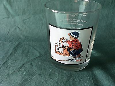 Vintage 1979 Pepsi - Arby's Norman Rockwell Collection Glass
