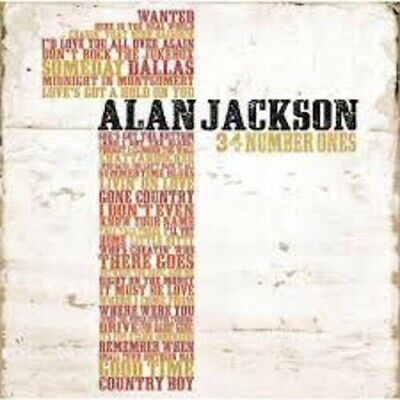 Alan Jackson - 34 Number Ones [New CD] Germany - Import