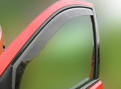 Wind Deflectors for FORD FIESTA MK-7 3 doors 2008-2015 2-pc ISPEED Tinted