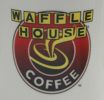 Waffle House Coffee Mug Cup Very Thick Heavy Cafe Diner Style Ceramic