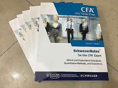2017 CFA Exams Level 2 Kaplan Schweser Notes