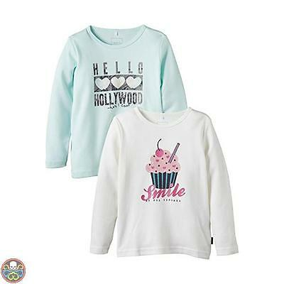Name It Tg: 12 Mesi (80) Multicolore - Nit 2-P Veen M Ls Top 6 415 Nuovo