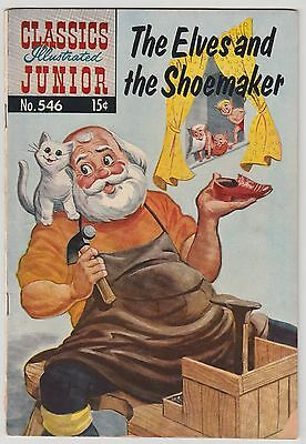 The Elves and the Shoemaker Classics Illustrated Junior #456 1st print 1958