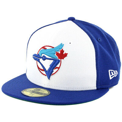"New Era 59Fifty Toronto Blue Jays ""1989 Cooperstown"" Fitted Hat (White-RB) Cap"