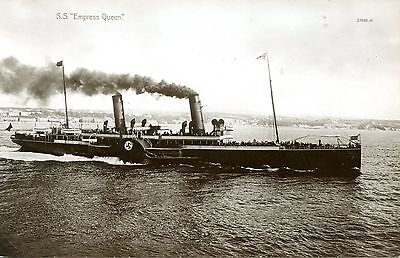 Isle of Man Steam Packet Empress Queen paddle steamer