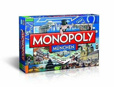Winning Moves 40453 - Monopoly Edition München