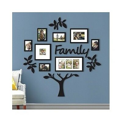 FAMILY TREE FRAME Collage Picture Multi Photo Big Pic Mount Wall ...