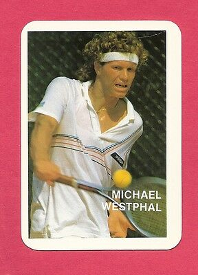 Michael Westphal Tennis Collectible Card 1987; West Germany