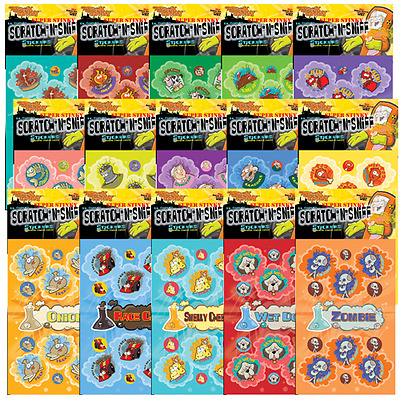 DR. STINKY SCRATCH 'N SNIFF STICKERS  Assorted Scents
