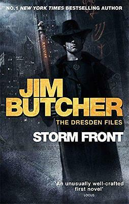 Storm Front: The Dresden Files Book One, Jim Butcher | Paperback Book | 97803565