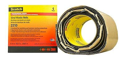 "3M  Scotch 2210 4""x10' Roll Vinyl Mastic Tape"