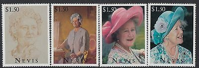 (95016) Nevis MNH Queen Mother 95th Birthday 1995 unmounted mint