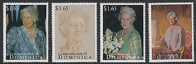 (95028) Dominica MNH Queen Mother 95th Birthday 1995 unmounted mint