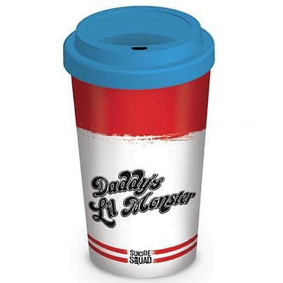 Suicide Squad Ceramic Travel Mug Harley Quinn Official Merchandise