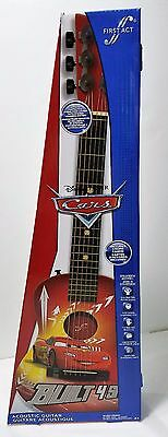 Disney Cars First Act Acoustic Guitar  Model # :cr705 New In Box