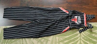Chicago Bulls Pinstripe Overalls / Size: M / Deadstock / Made in USA