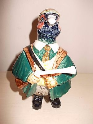 CINQUE PORTS POTTERY RYE  'Mr.Pheasant' COUNTRY GENTLEMAN SERIES Excellent.