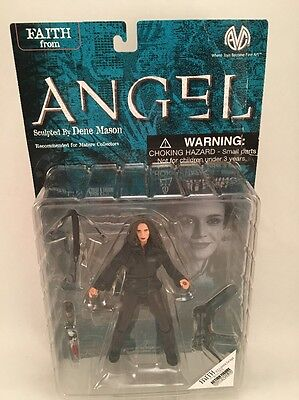 Angel Buffy The Vampire Slayer Action Figure - Faith in Leather Jacket Moore
