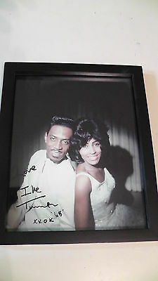 "Ike & Tina Tuner ""A Fool For A Fool"" Album Cover Print Signed By IKE 1968 11x9"