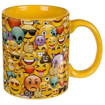 Tasse Emoticon Family 350 ml Kaffeetasse Porzellantasse Kaffeebecher Teetasse