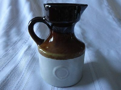 Vintage Miniature Stoneware Jug Only 4.75 Inches High!
