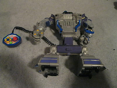 """16"""" MATTEL 2002 ELECTRONIC RESCUE HERO w/ REMOTE CONTROL *TESTED & WORKS*!"""