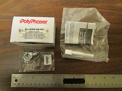 PolyPhaser AL-LXM-ME-001 2 - 6 GHz In-Line EMP Surge Filter New