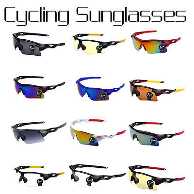 New Men's Sunglasses Driving Cycling Glasses Outdoor Sports Eyewear Glasses+CASE