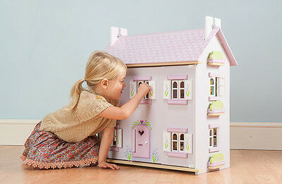 NEW Le Toy Van Lavender Wooden Wood Dolls Doll House