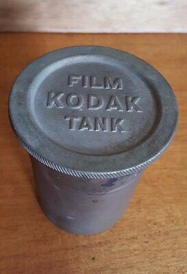 Vintage KODAK Antique Metal Film Tank