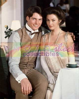 CHRISTOPHER REEVES JANE SEYMOUR SOMEWHERE IN TIME SOUVENIR COLOR PHOTO 8x10
