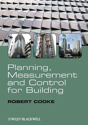 Planning, Measurement and Control for Building by Robert Cooke Paperback Book (E