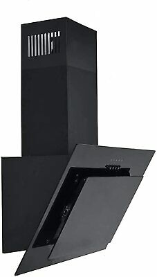Saga EH90GB 90cm Stainless Steel Angled Kitchen Extractor Hood