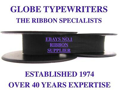 1 x IMPERIAL B *PURPLE TOP QUALITY TYPEWRITER RIBBON *MANUAL REWIND+INSTRUCTIONS